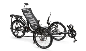 ICE Adventure Touren Trike im Liegeradstudio