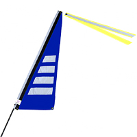 Bikeflag True Blue Stripe